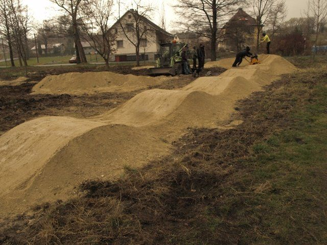 Looks Like The Bike Park Knows How To Build A Pump Track Too