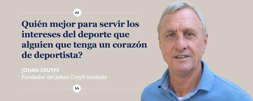 Si Lo Dice Johan Cruyff Es Así Frase Deporte Sport