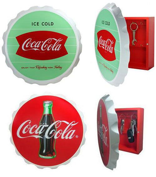 Coca-Cola Bottle Cap Key Box BRAND NEW!