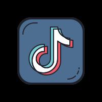 Tiktok Logo Aesthetic In 2020 Iphone Icon Snapchat Logo Cute App