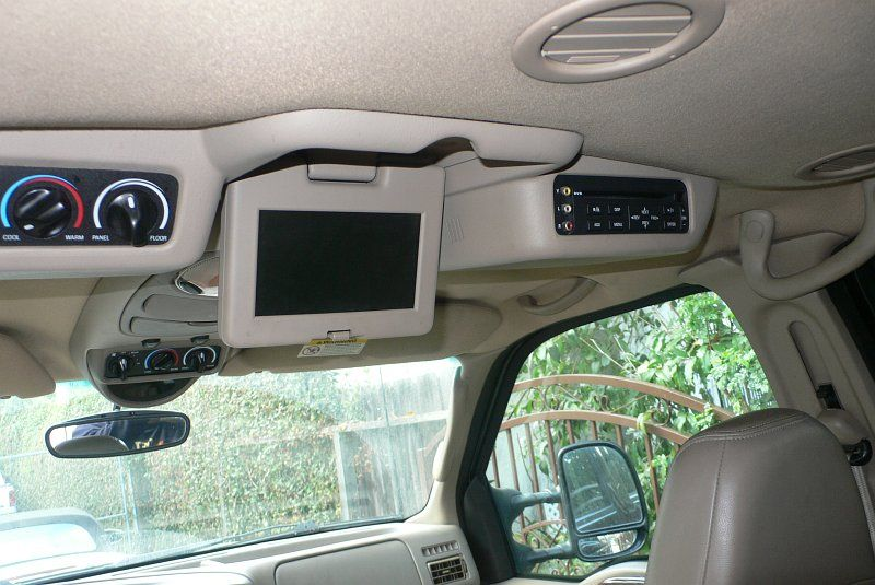 Ford Excursion And Super Duty Entertainment Console Ford