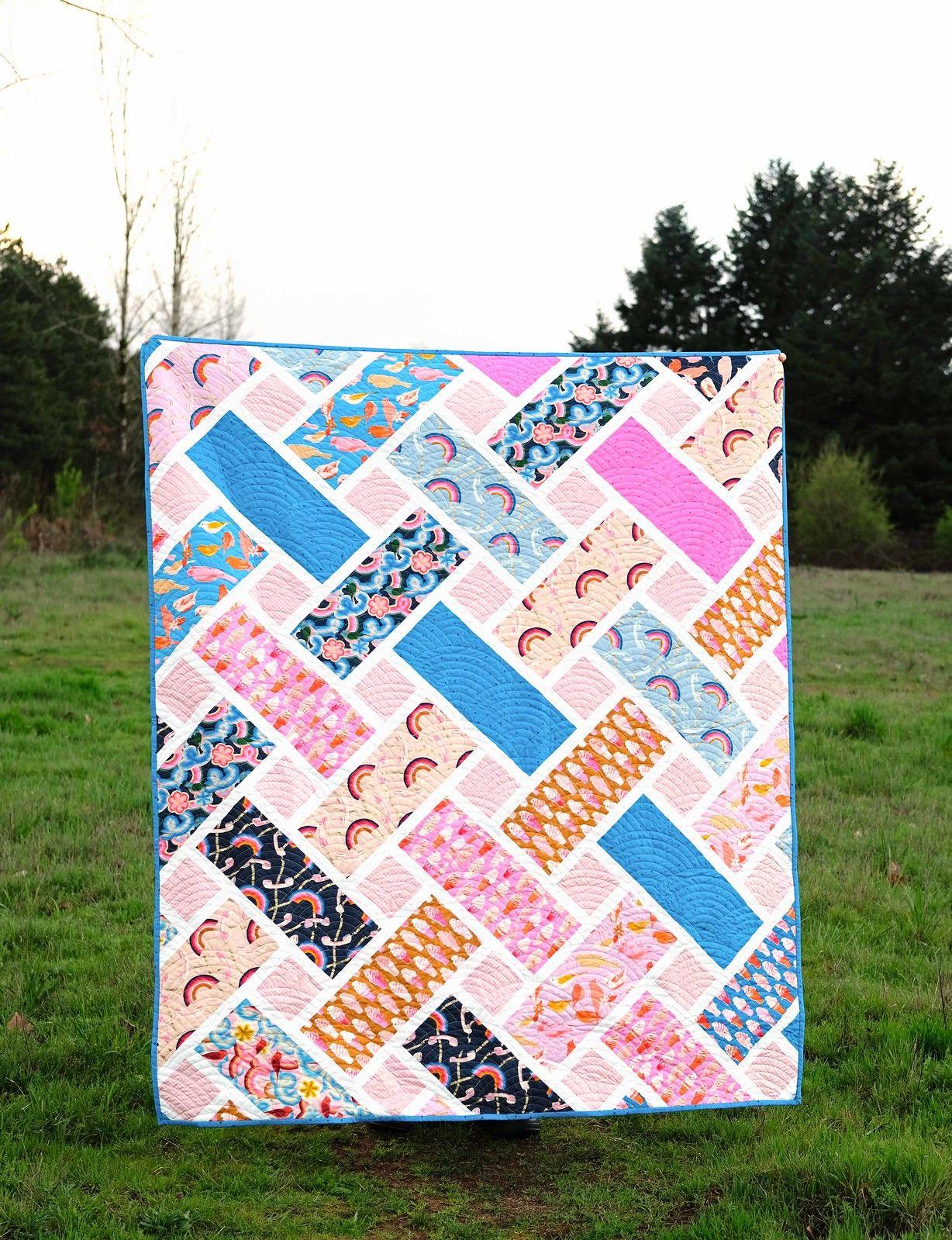 New Pattern - The Tessa Quilt  Quilts, Beginner quilt patterns
