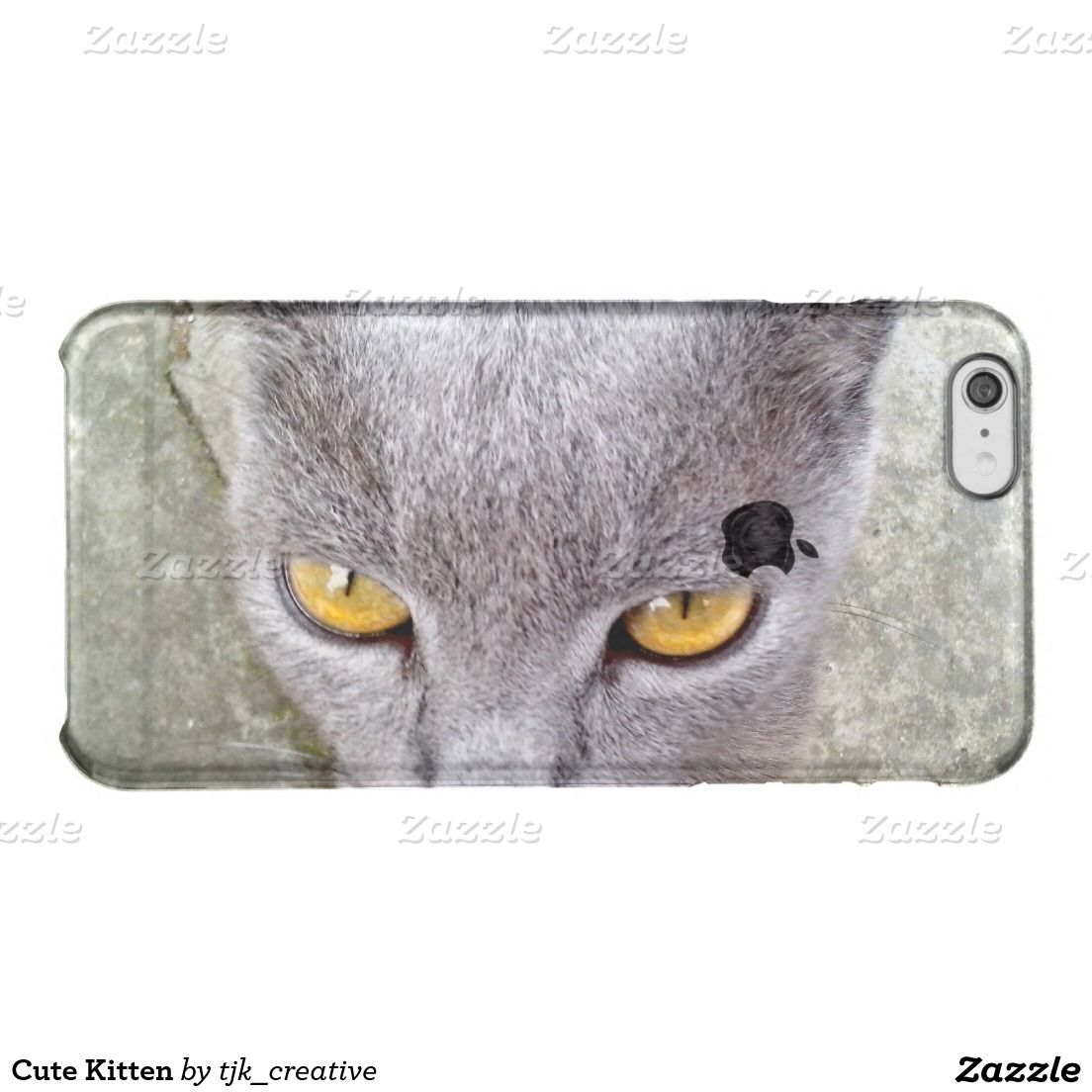 Cute Kitten Uncommon Iphone Case Zazzle Com With Images Kittens Cutest