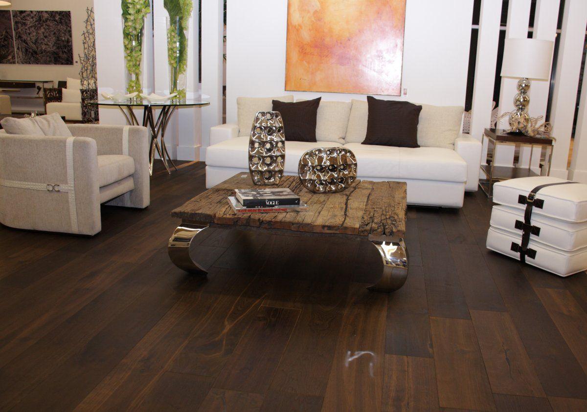 Inside a Stunning London Penthouse | Living room hardwood ...