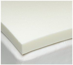 queen size 3 inch isocore 30 memory foam mattress pad bed topper overlay made