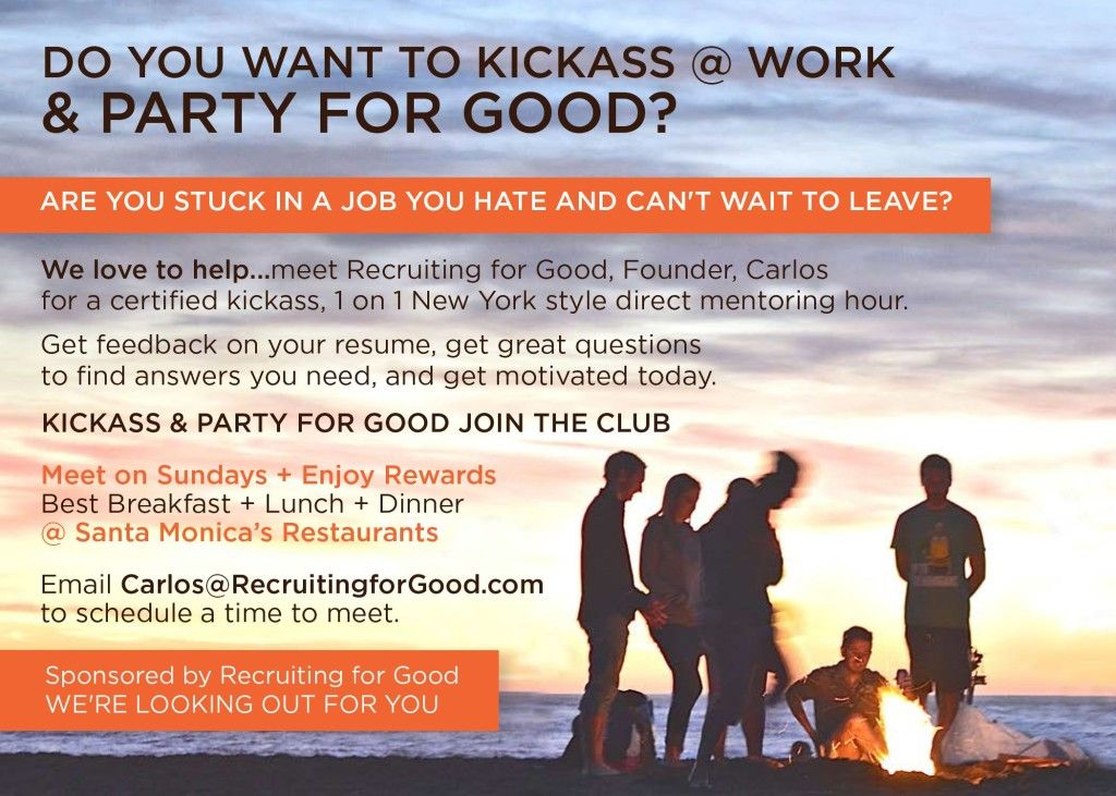 Come Find a Job You Love & Celebrate Your Freedom We're