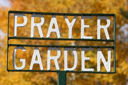 Prayer Garden Sign Prayer Garden Garden Signs Meditation Garden
