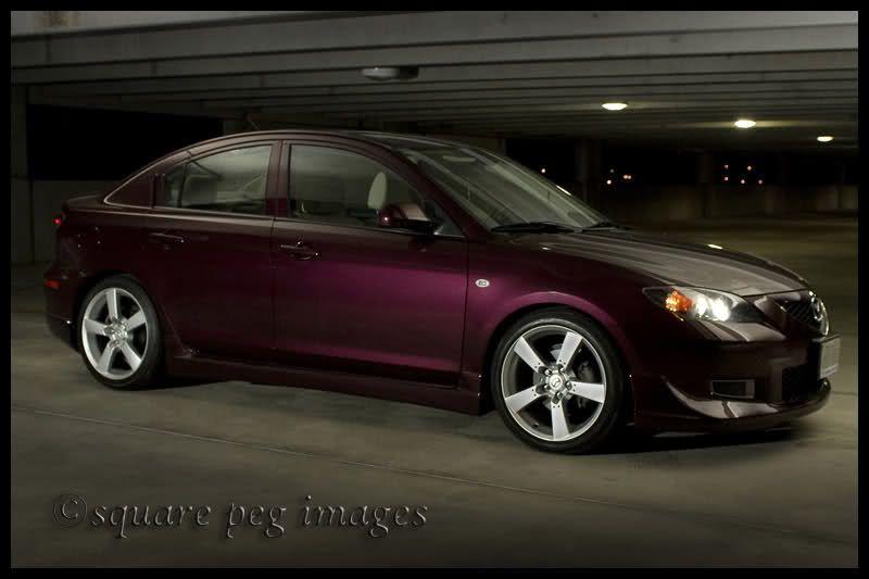 Purple Mazda 3 Why Can T I Find You Purple Mazda3 Mazda