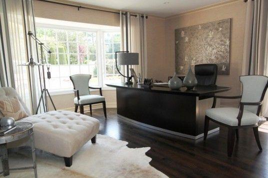 Elegant Office Design For Men Contemporary Home Office Home