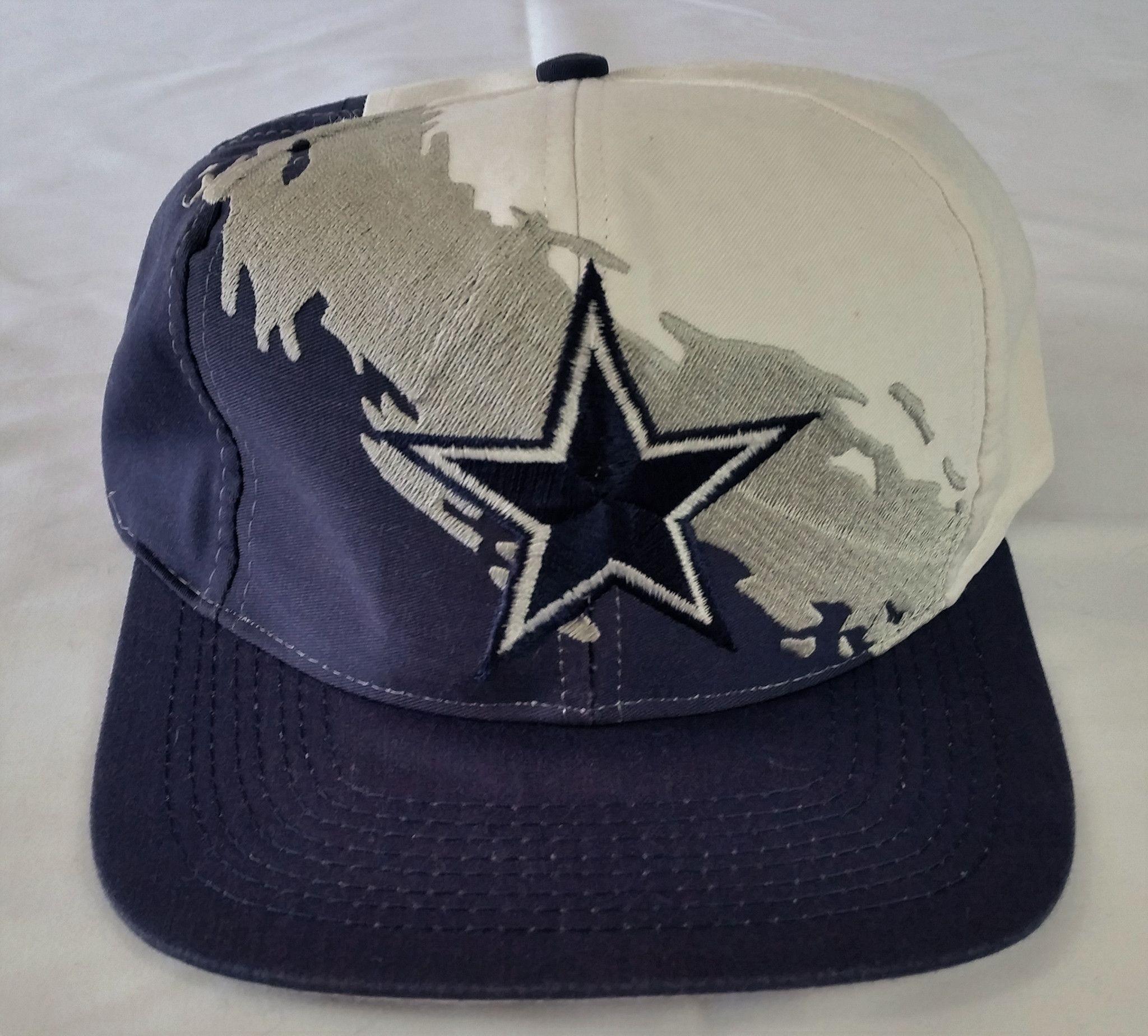 Dallas Cowboys Vintage Snapback Logo7 Splash Hat NFL Rare Cap Logo Athletic 1627ec5ab