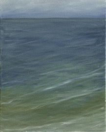 Water Series 58   Contemporary, Canvas, Art by Giannetti Home