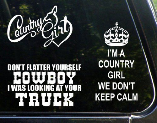 Details About Southern Belle Raisin Hell Cute Country Girl - Car sticker decal for girls