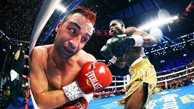 I love this photo, regardless of whether the fight was any good or not. Or whether Adrien Broner is an asshole.