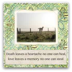 photograph relating to Free Printable Pet Sympathy Cards known as No cost printable horse sympathy playing cards @ Very simple Sympathy