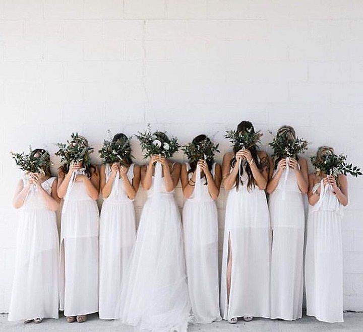 Ivory Crisp bridesmaid dresses | Bridesmaids Dresses #wedding #bridesmaid #bridesmaids #bridesmaidsdresses