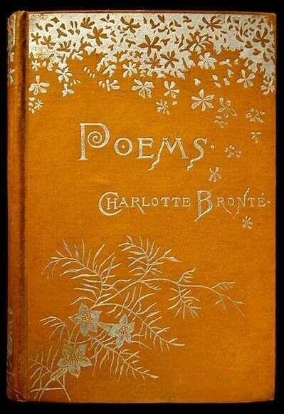 Beautiful Poetry Book Covers : Beautiful antique books ≈ poems charlotte bronte
