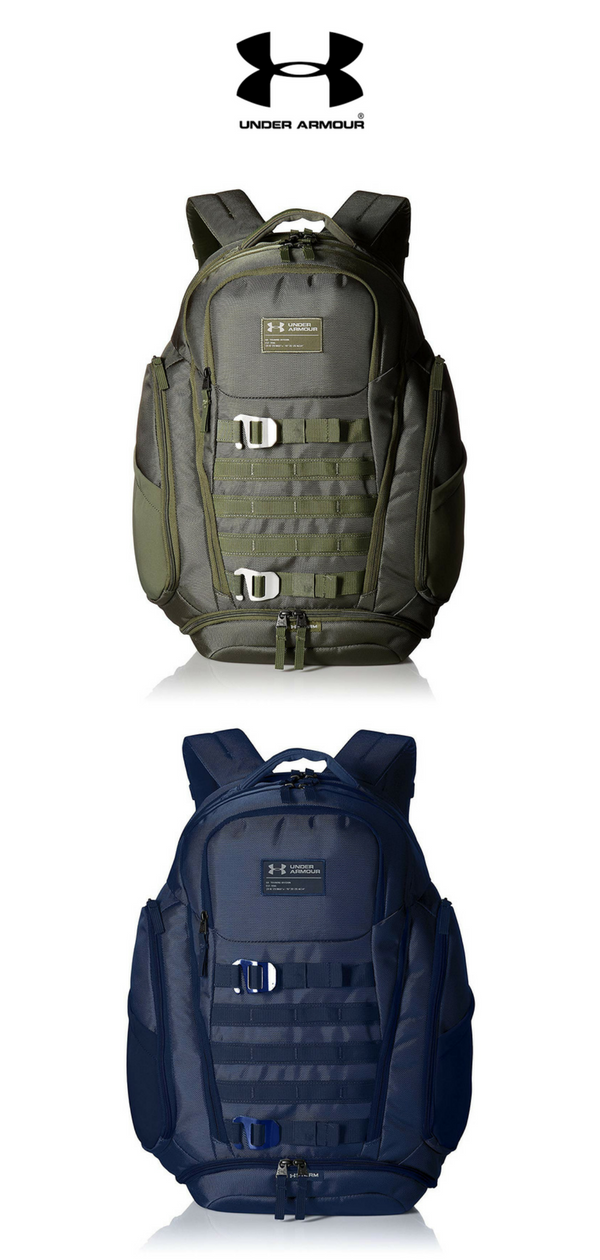 Storage space is plentiful on the stylish Huey Backpack from Under Armour!   UnderArmour 9465a59086