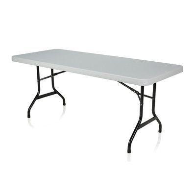 Ki Furniture Valuelite Rectangle Folding Table Size Table
