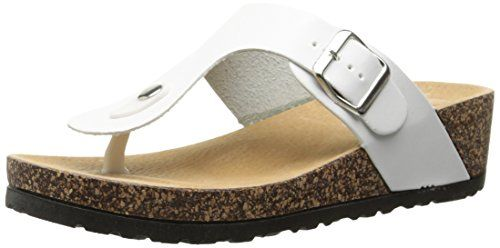 Dirty Laundry by Chinese Laundry Womens Track N Field Bur Platform Sandal White 7 M US *** Read more reviews of the product by visiting the link on the image.