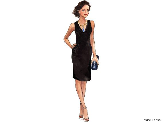 This Black Tie Dress Will Take You From The Boardroom To The Ballroom Black Tie Dress Black Tie Dress Code Dresses