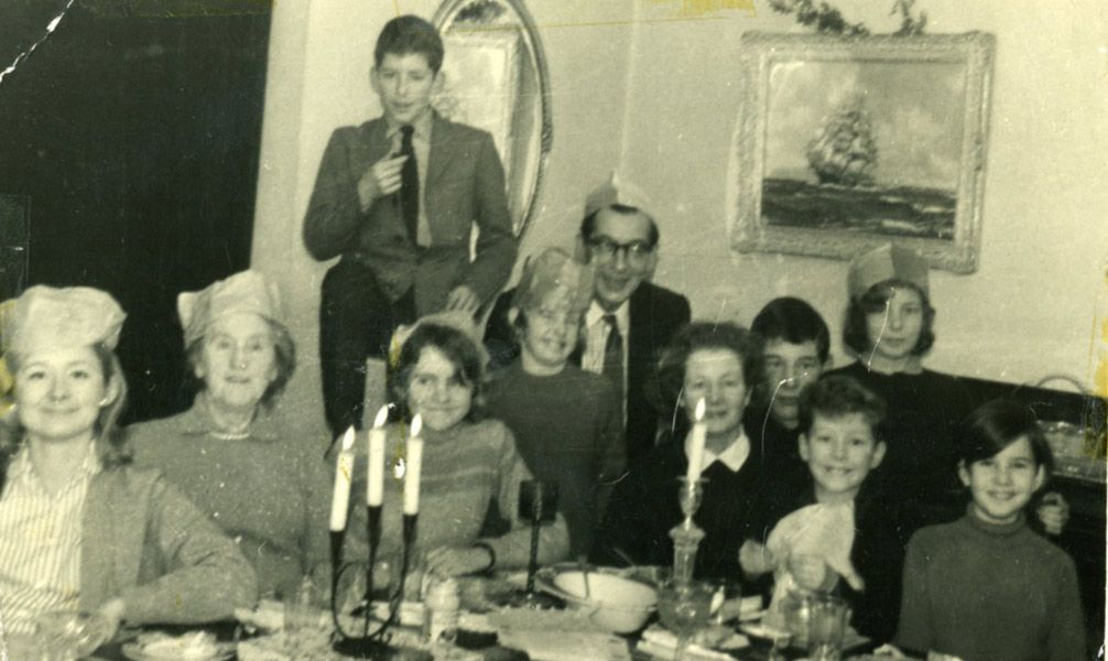 Family Christmas around 1962, with Maurice & Lena MacGowan, Sybil ...