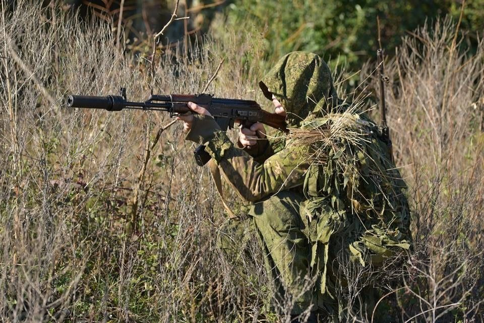 Russian Army recon team member  | Hunting suit, Guns, Army