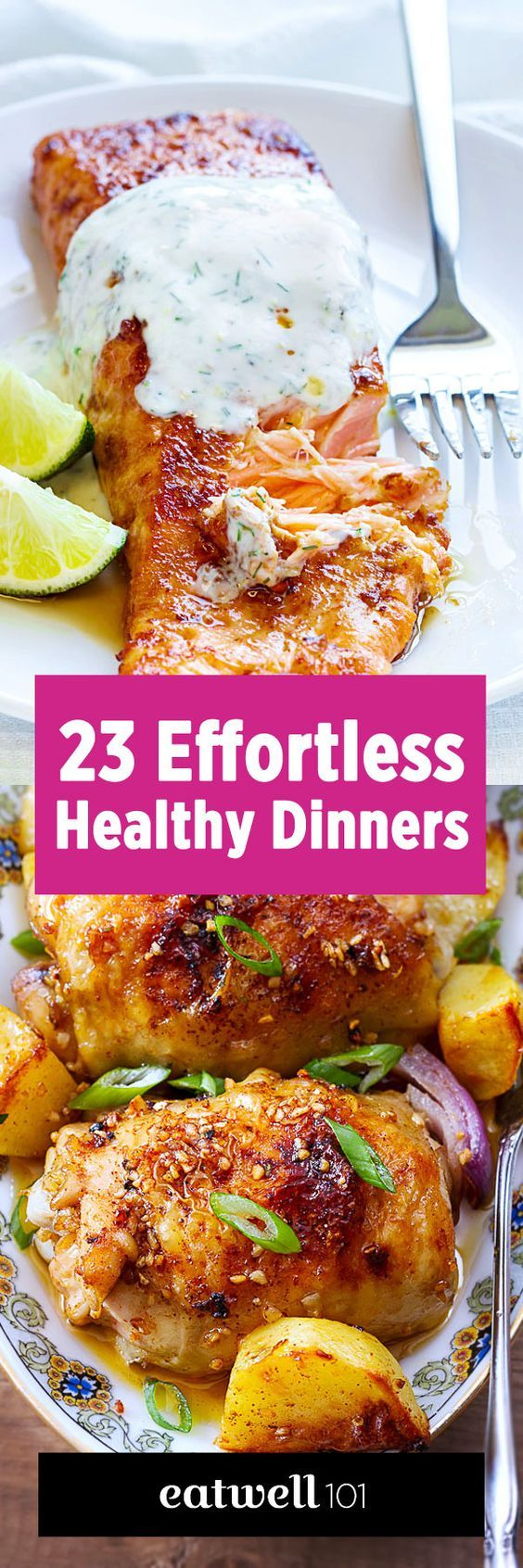 46 Low Effort and Healthy Dinner Recipes
