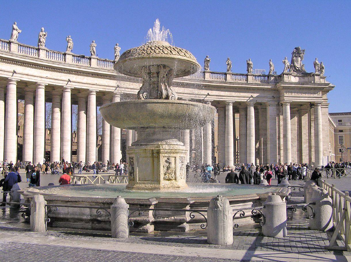 Plaza de San Pedro (Ciudad del Vaticano) - Portal Fuenterrebollo