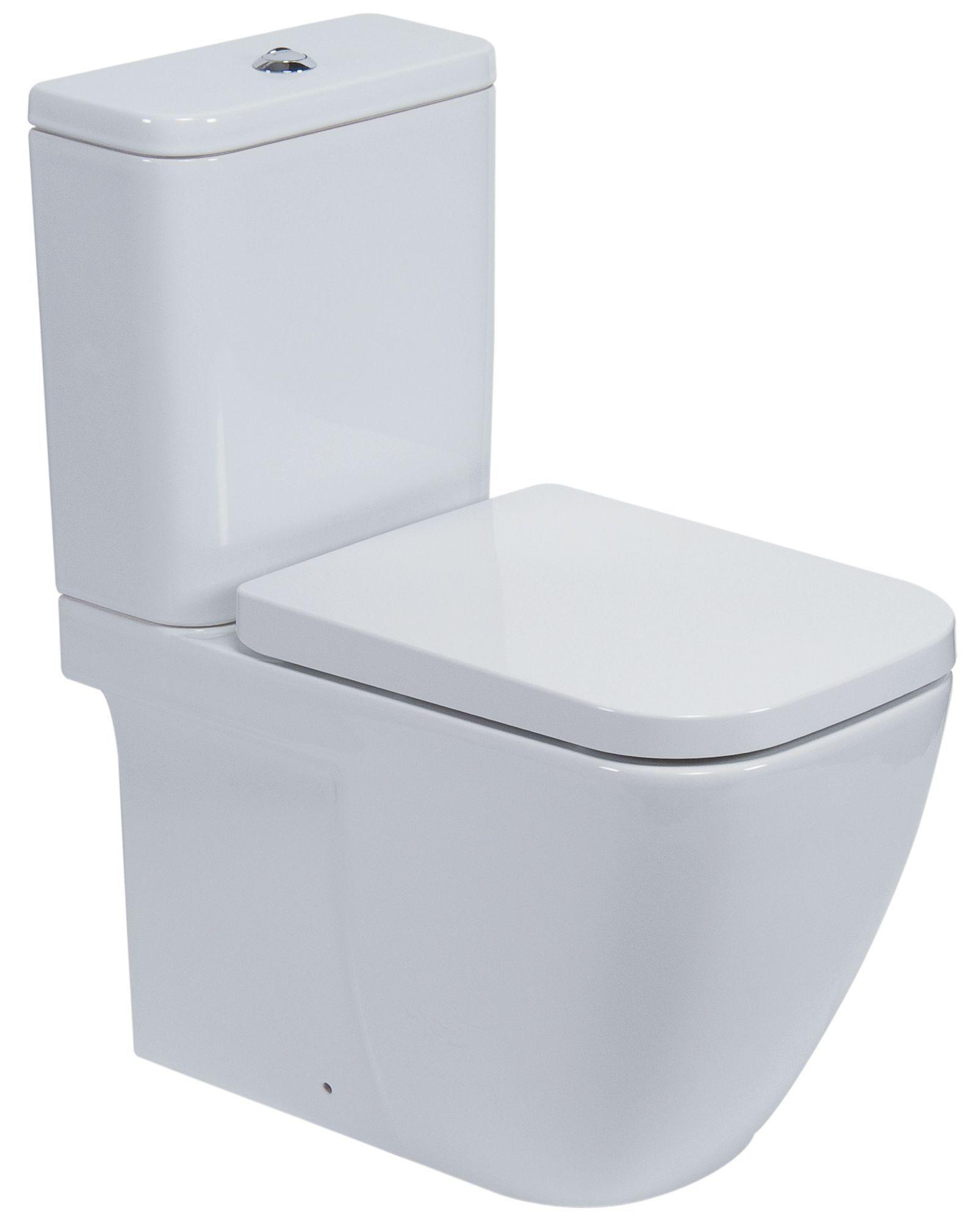 Tremendous Cooke Lewis Clancy Modern Close Coupled Toilet With Soft Machost Co Dining Chair Design Ideas Machostcouk