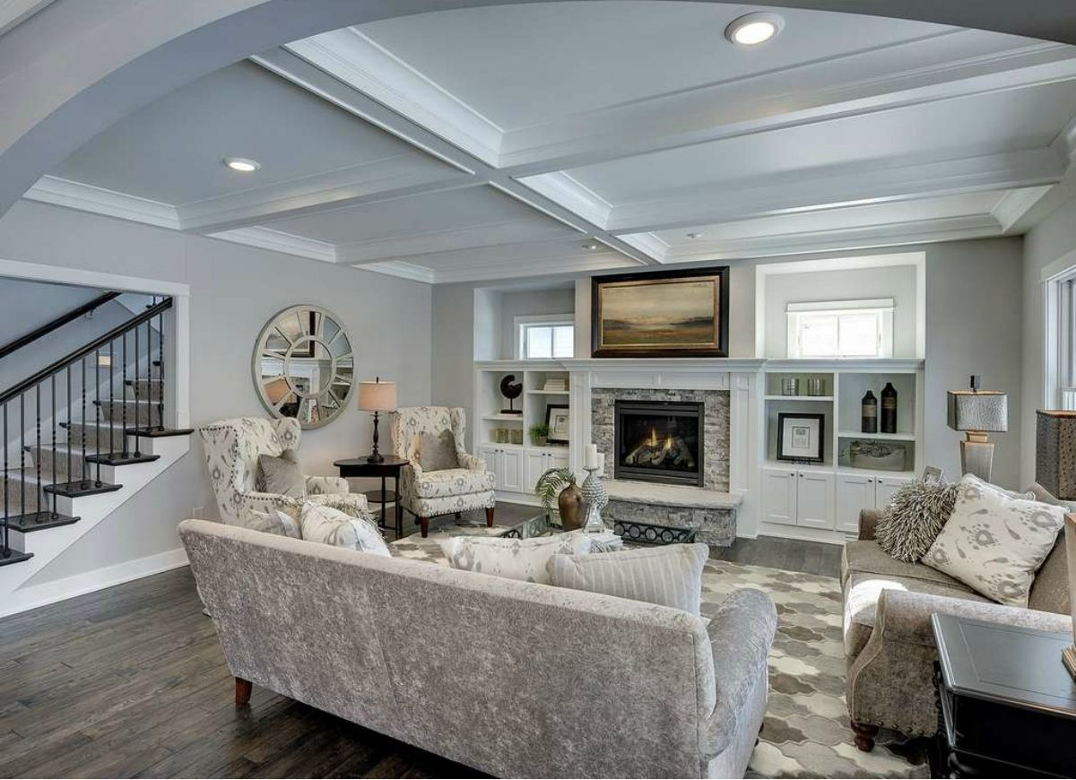 9 Clever Ways To Counteract Low Ceilings Living Room D