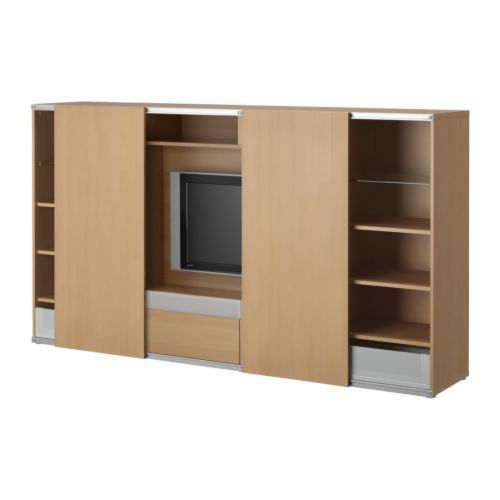 Us Furniture And Home Furnishings Ikea Sliding Door Tv