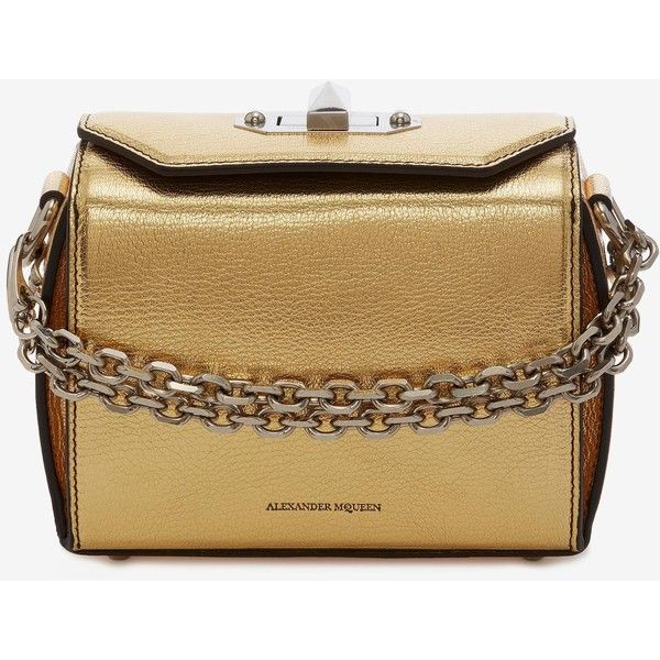 Alexander Mcqueen Box Bag 16 105 190 Rub Liked On Polyvore Featuring Bags
