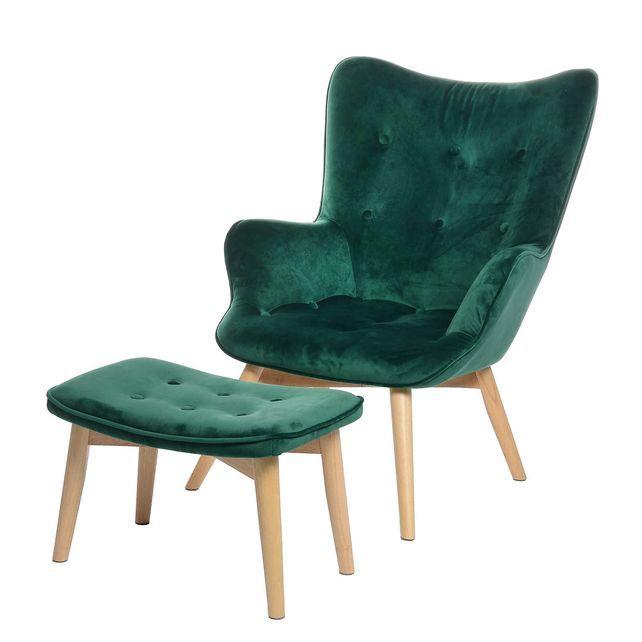 sessel samt 74x83x99cm dunkelgr nsessel samt 74x83x99cm. Black Bedroom Furniture Sets. Home Design Ideas