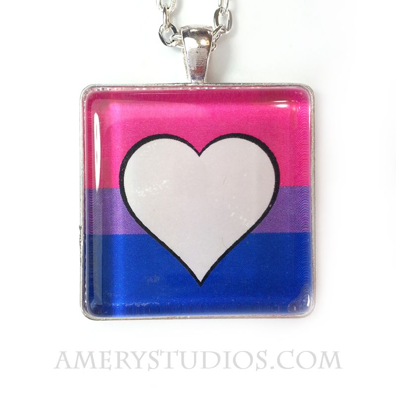 A necklace to show off your bisexual pride!