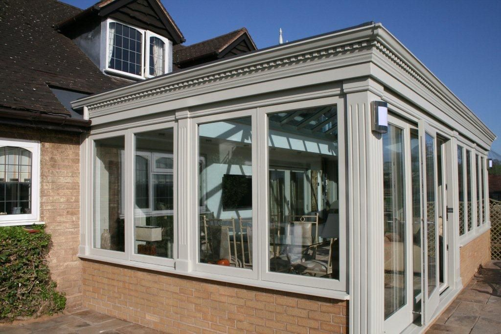 Convert Conservatory To Orangery Google Search Georgian Doors Conservatory Modern Conservatory