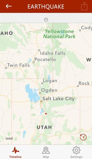 10 Minutes Ago A 2 9 Magnitude Earthquake Has Hit Spanish Fork Utah