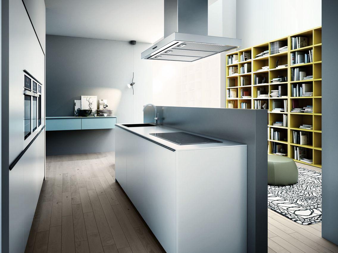 Glass kitchen model by logos | Cocinas LOGOS