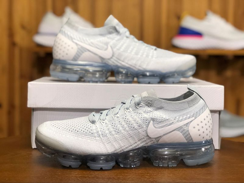 cf7b010a74c New Releases Nike Air Vapormax 2.0 Authentic Mens Snekaers 942842-004 White  Gray Flyknit.jpg