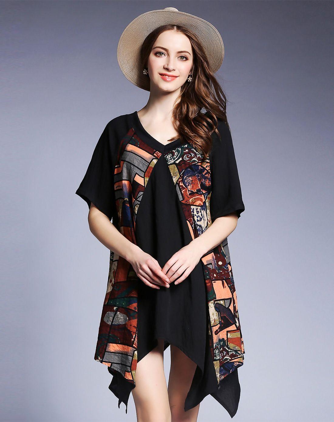Adorewe vipme aline dressesdesigner fan shang v neck short