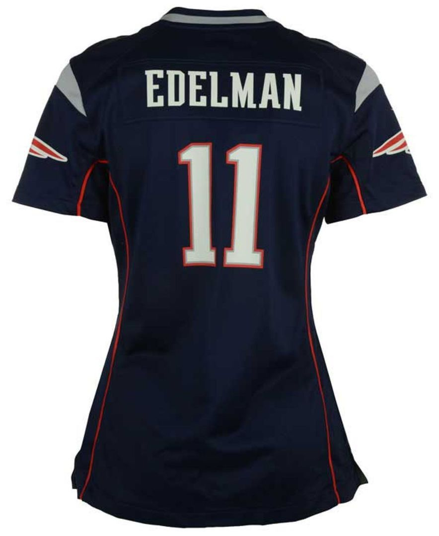 Nike Women S Julian Edelman New England Patriots Game Jersey Reviews Sports Fan Shop By Lids Women Macy S New England Patriots Game New England Patriots Patriots Game