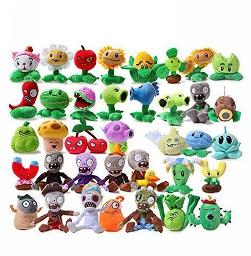 Luk Oil A Full Set Of Plants Vs Zombies Series Plush Toy Doll 38Pcs  http://www.bestdealstoys.com/luk-oil-a-full-set-of-plants-vs-zombies-series-plush-toy-doll-38pcs-2/