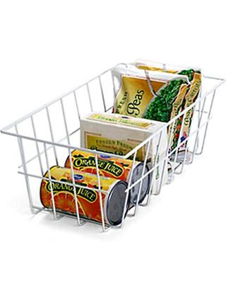 freezer storage baskets
