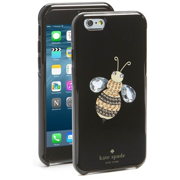 Women s Kate Spade New York  Queen Bee  Iphone 6   6S Case (70 BRL) ❤ liked  on Polyvore featuring accessories 05c5ce2438