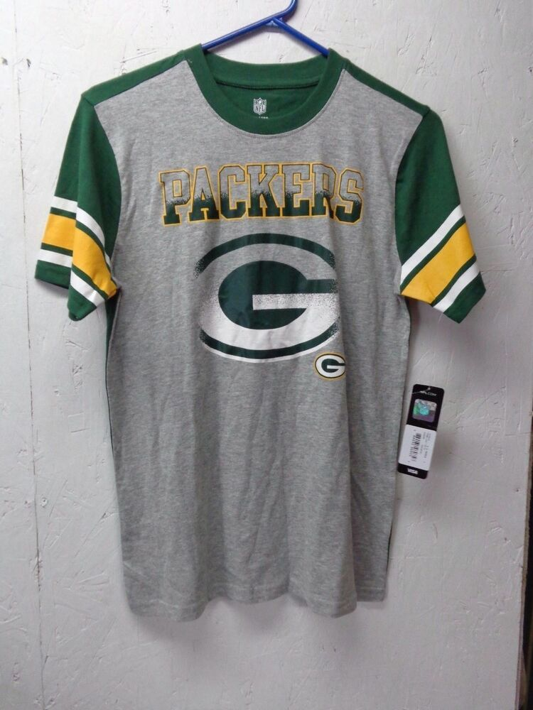 f088f7b6 eBay Sponsored) NWT NFL Green Bay Packers Youth L t shirt, grey ...