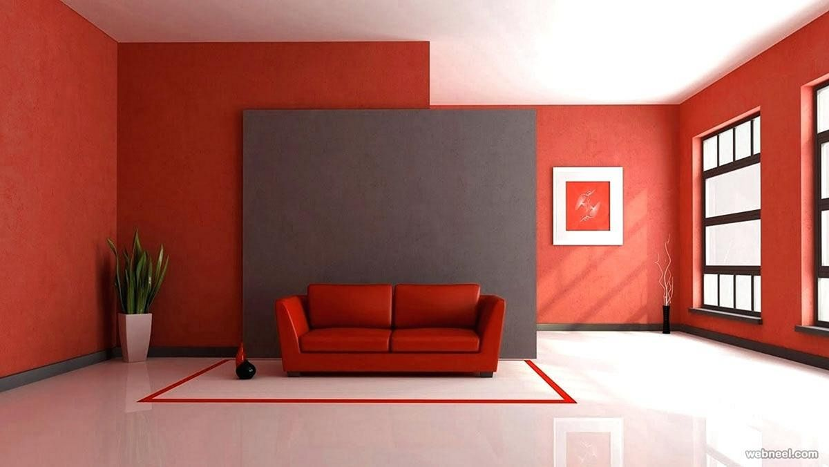 20 Best Red Living Room Paint Color Decoration Ideas Teracee Living Room Red Red Interior Design Paint Colors For Living Room #red #paint #colors #for #living #room