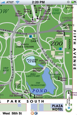 3. #Central Park NYC Lite - 7 Awesome Apps to Help You #Navigate New on