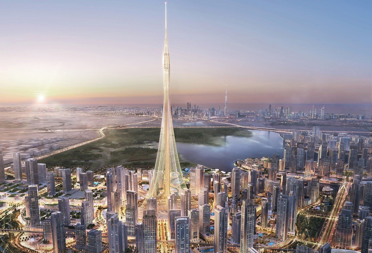 Dubais Next Tallest Building Dubai UAE [1580x1074]   See Http://www