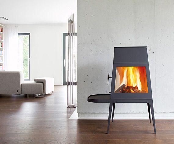 Kaminofen shaker - skantherm - Wir sind Feuer und Flamme Ofen - wohnzimmer modern mit ofen