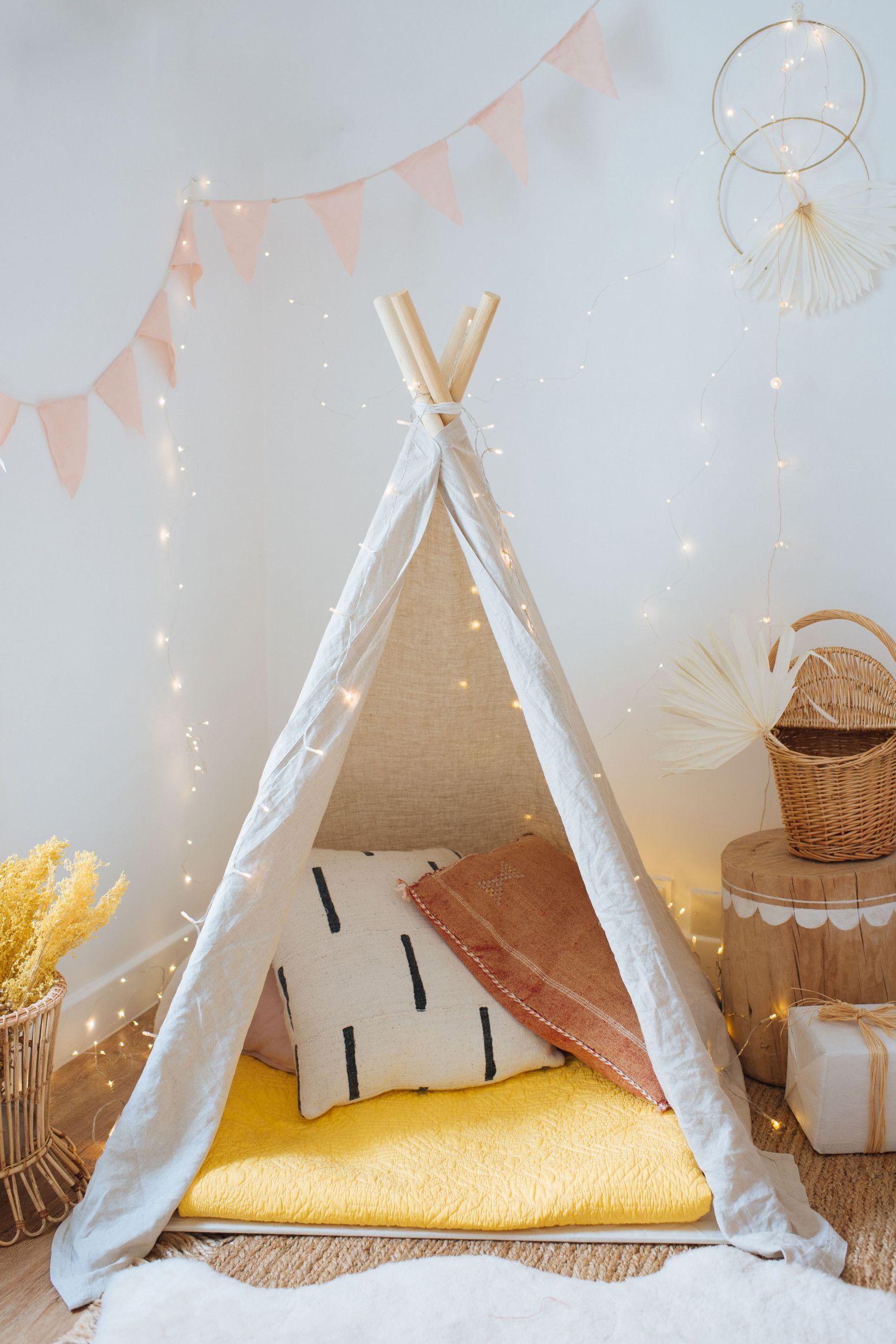 Diy Kids Indoor Play Tent Collective Gen Kids Teepee Tent Kids Rooms Diy Teepee Kids