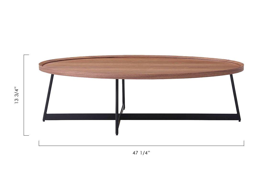 Wyatt Coffee Table Walnut Coffee Table Walnut Coffee Table Modani Furniture [ 800 x 1120 Pixel ]